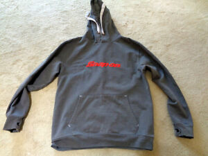 Genuine Snap On Red Logo on a Black Hoodie Size XL