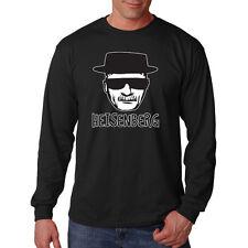 Breaking Bad Walter White Hat & Sunglasses Heisenberg Cook Long Sleeve T-Shirt