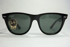 Ray Ban RB 2140 901 3n Wayfarer 54 18 Negro Ovalada Gafas De Sol Sunglasses