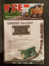 NCE THE POWER OF DCC D408SR DECODER RATED AT 4 AMPS NEW