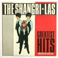 THE SHANGRI-LAS Greatest Hits 1984 Vinyl, LP, Comp (Leader of the Pack) VG+/VG+
