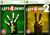 LEFT 4 DEAD XBOX 360 Xbox one BUNDLE - Buy 1 or BOTH - MINT Super Fast Delivery