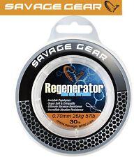 (0,20€/1m) Savage Gear Regenerator Mono Schnur 30m 0.70mm 26kg, Vorfachschnur