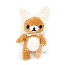 """San-X Cute Kawaii Rilakkuma Mascot Yellow Rabbit Plush Doll 10"""""""