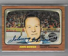 JOHN BOWER 2002 TOPPS REPRINT AUTOGRAPH AUTO SP!! MAPLE LEAFS!!