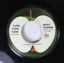 Rock 45 Mary Hopkin - Turn, Turn, Turn / Those Were The Days On Apple Records