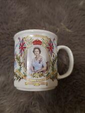Queen Elizabeth Anniversary Coffee Cup
