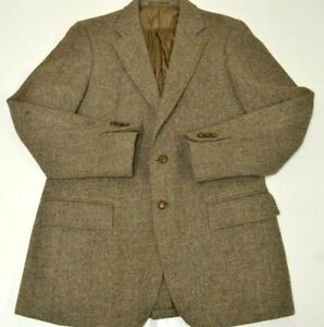 Mens Vintage Harris Tweed Blazer Jacket Sz 42 - 44 Long #A5171113