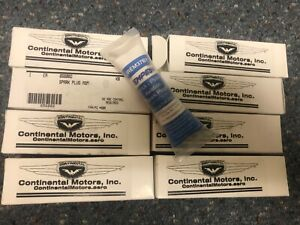 Aviation spark plug REM 37BY from continental motors set of 8