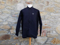 FRED PERRY.  Long Sleeve Over-Shirt M4806. 100% Cotton.  Size: Medium.  BNWOT
