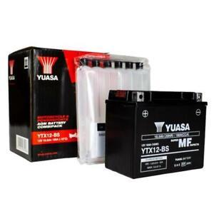 YUASA 12V 20Ah MAINTENANCE FREE BATTERY-BLACK YTX12BS-12V