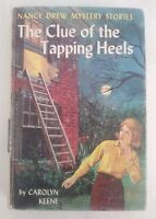 The Clue of the Tapping Heels Nancy Drew Mystery # 16 by Carolyn Keene 1939