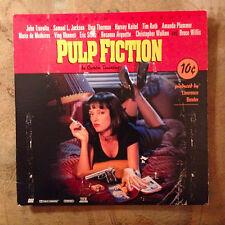 PULP FICTION TARENTINO 1994 Extended Play & Trailers Travolta Willis Keitel Uma