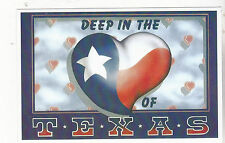 "*GREETINGS-""Deep In The Heart of Texas""  {Postcard} -(XT62)"