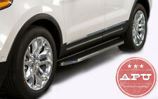 APU 2016-2018 Honda Pilot Aluminum Running Boards Nerf Bars Side Step Tubes