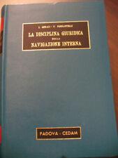 (PRL) DISCIPLINA GIURIDICA NAVIGAZIONE RAR  BOOK 1967 LIBRO ANTICO VINTAGE LIVRE