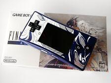 Brand New Nintendo Gameboy Micro Final Fantasy Iv White Blue Face Plate Japan