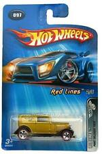 2005 Hot Wheels #097 Red Lines 1932 Ford Delivery Thailand Base