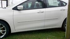 PAINTED BODY SIDE MOLDINGS fits the 2013 - 2017 DODGE DART