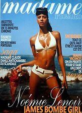 Madame Figaro 2009: NOEMIE LENOIR_MADAME CLAUDE_ENKI BILAL_ELISABETH BADINTER