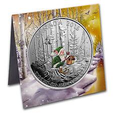 2016 Canada 1/4 oz Silver $25 Woodland Elf - SKU #104561