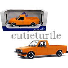 Solido 1982 Volkswagen Caddy Mki Pickup Truck 1:18 Custom Orange S1803502