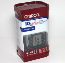 Omron BP653 Wrist Blood Pressure Monitor 10 Series Plus Bluetooth Smart Connect