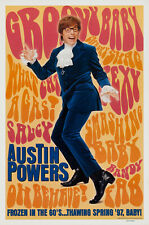 Austin Powers International Man Of Mystery Movie Poster 1 Sided Original 27x41
