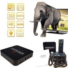 Nuevo Android 6.1 4K Quad Core Smart TV Box Reproductor de medios de puerta de enlace multimedia