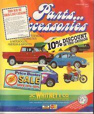 J.C. Whitney & company Auto Parts & Accessories Book Catalog 458 D 042018DBE