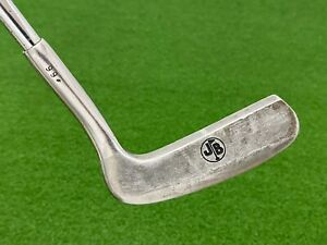 """JERRY BARBER GOLDEN TOUCH #99 PUTTER 35"""" Right Handed Heel Shafted Classic Used"""