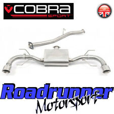 "Cobra Mazda RX8 Exhaust RX-8 2.5"" Cat Back System Stainless Steel (03-12) MZ08"