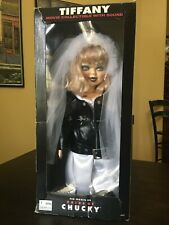 Tiffany, The Bride of Chucky Doll 1998 Movie Collectible With Sound Spencer Gift