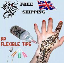 30ml Henna Temporary Tattoo Applicator Bottle Writing Drawing Painting Cake