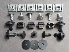 1x Unterfahrschutz Einbausatz Unterboden Repair Kit für Audi A4, A6, A8