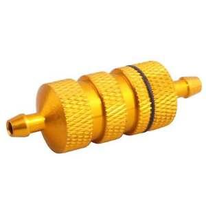 RC HSP 80118 Gold Aluminum Fuel Filter For  HSP 1:8 Nitro Car Buggy Truck