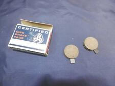 NOS Norton Commando DISC BRAKE PAD SET. PN# 06-1894 & 06-6186  750  850   B77
