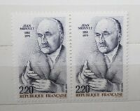 "FRANCOBOLLI STAMPS FRANCIA  FRANCE 1988 ""JEAN MONNET"" NUOVO MNH** (CAT.B)"