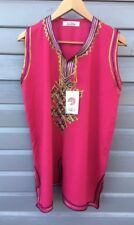 Asian Ladies Clothing 2 Piece Suite Pink Size See Measurements NEW