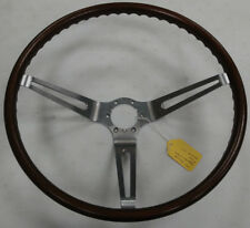 OEM 1963-1966 Original Corvette Walnut Wood Woodgrain Steering Wheel 63-66