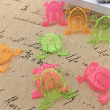 10PCS Jumping Frog Hoppers Game Kids Party Favor Kids Birthday Party Toys WK
