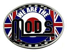 SIAMO I MODS Fibbia della Cintura British cultura giovanile Union Flag Musica Rock SCOOTER