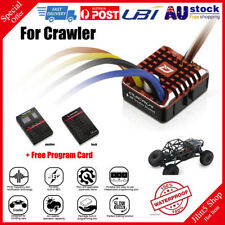 Hobbywing QuicRun 1080 Waterproof Brushed 80A ESC + Program Card For Crawler AU