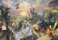 1000 Piece Jigsaw Puzzle Beauty and the Beast Falling in Love (51 x 73.5 cm)*