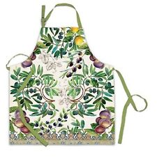 Michel Design Works Cotton Apron Tuscan Grove - NEW