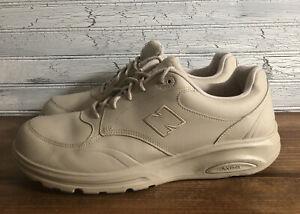 New Balance 812 Walking Shoes Bone MW812BE Roll Bar Mens Size 13 4E