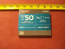 """(1114.) Arrow Staples For T-50 & Other Staplers 5/16"""" L"""