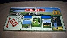 MIB! RETIRED NEW FACTORY SEALED MONOPOLY BOARD GAME - GOLF EDITION