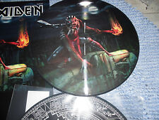 IRON MAIDEN NEW LP  2 THE BEAST IN THE GARDEN N.Y USA 2016 PICTURE DISC PDK 250