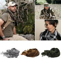 Hot Lightweight Tactical Keffiyeh Shemagh Arab Scarf Turban Neck Head Wrap Shawl